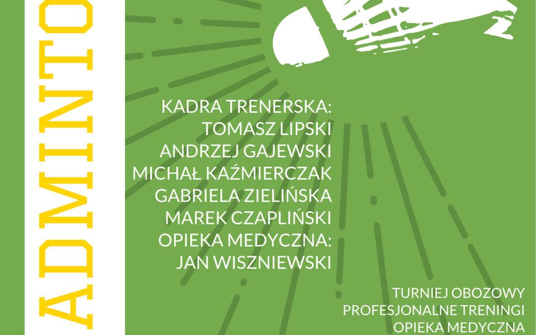 Ferie z Badmintonem – Obóz Miłakowo 27sty- 3 luty 2019