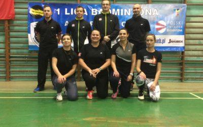 I Liga Badmintona. Debiut Olsztyńskich Rakiet!