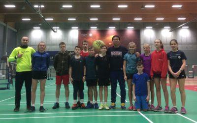 Trener Andrzej Gajewski na obozie Talent Camp